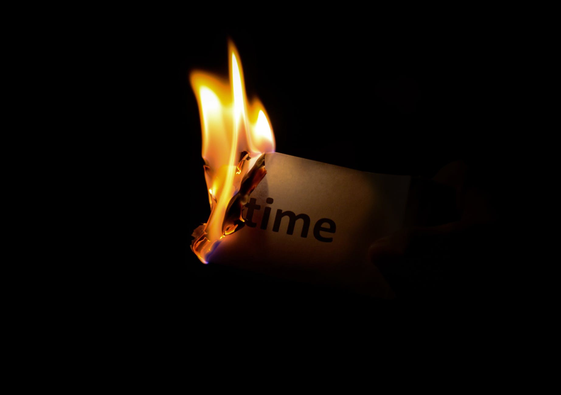 dark fire time paper